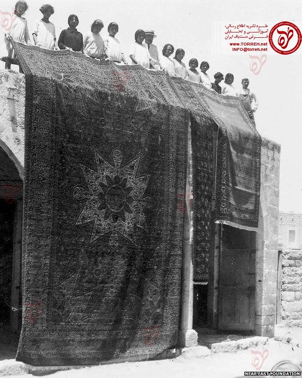 حکایت فرشهایی که یتیمان ارمنی بافتند