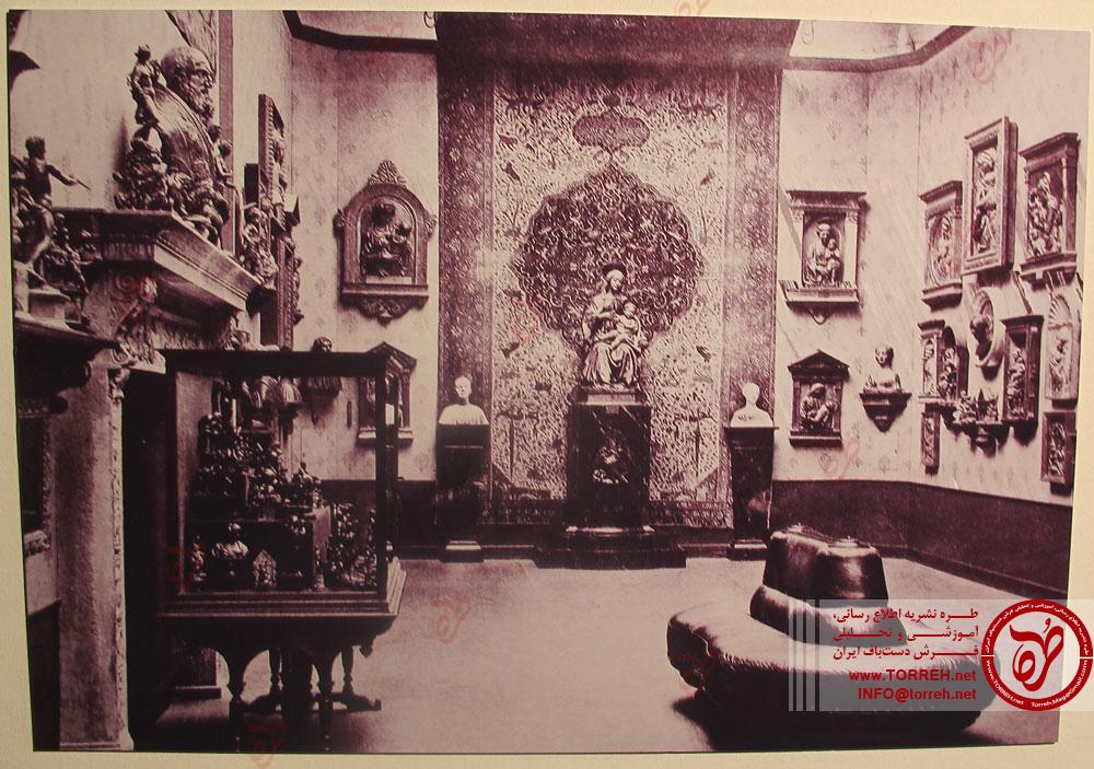 موزه برلین پیش از جنگ جهانى دوم میزبان فرش هایى نفیس بود