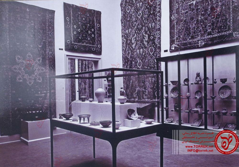 نمایش تصاویر فرش هاى کهن در ضرابخانه قدیمى برلین