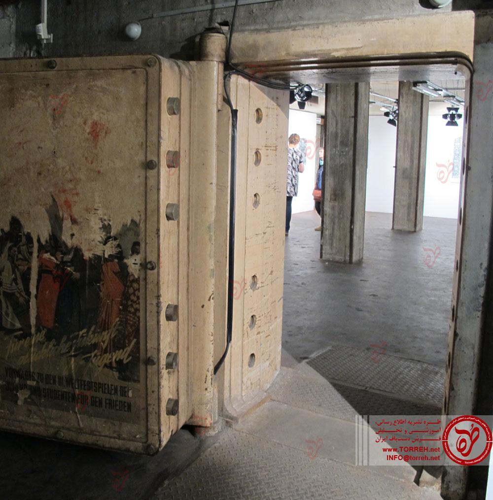 ضرابخانه قدیمى برلین که میزبان تصاویر فرش شد