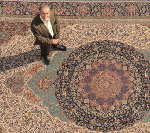 یکی از اعتبارآفرینان فرش ایرانی درگذشت